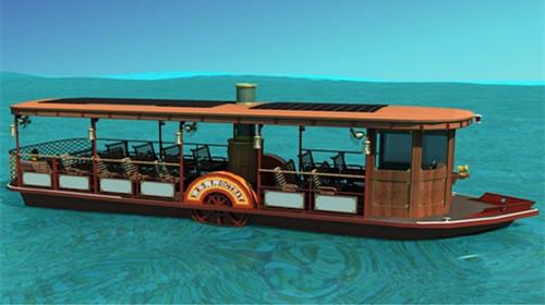 欢乐海岸游船